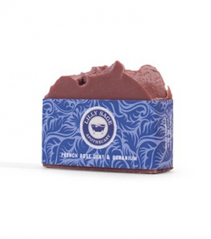 French Rose Clay and Geranium Soap