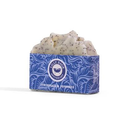 Lemongrass and Poppyseed Soap